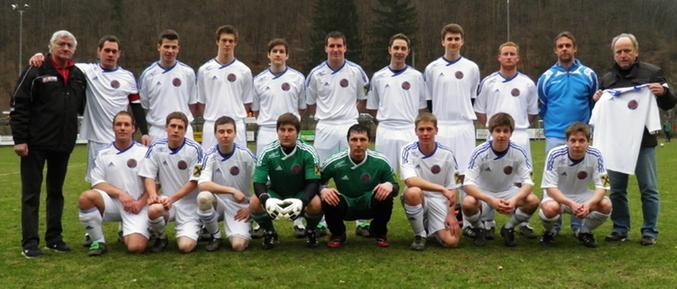 Kampfmannschaft des FCU Frankenfels