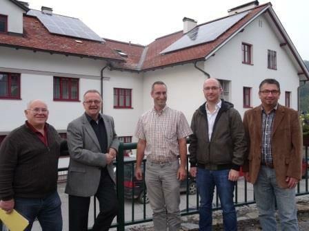 Foto: Josef Schagerl, Franz Größbacher, Ing. Werner Kiselka, DI Philipp Zeman, Alfred Hollaus.