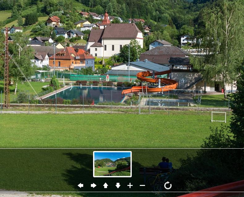 Freibad Panorama Frankenfels