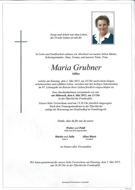 Maria Grubner