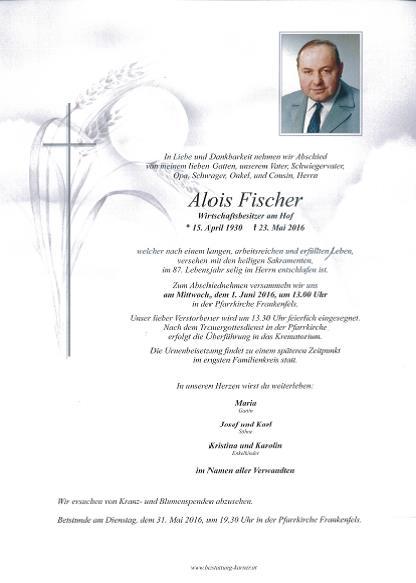 Fischer Alois