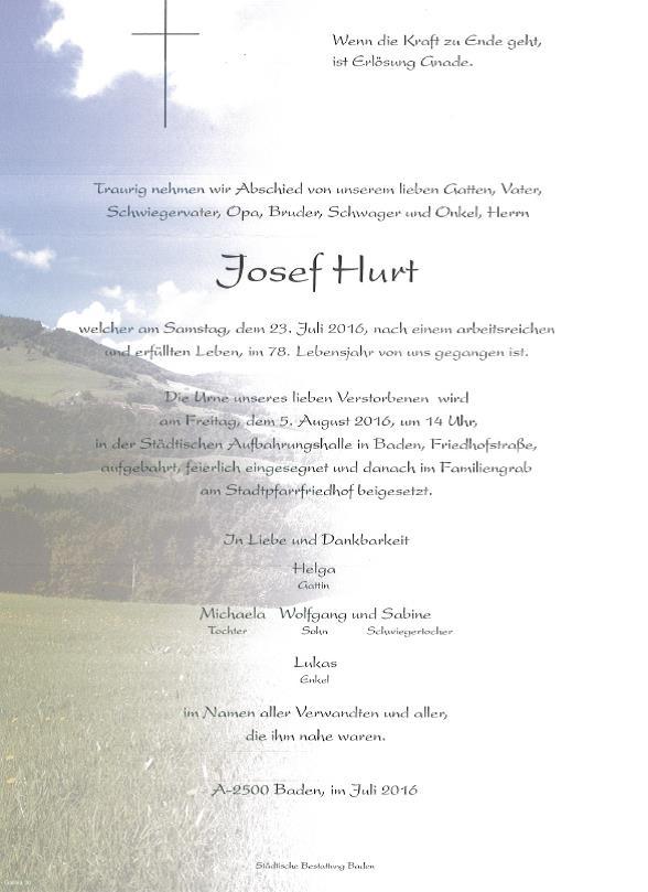 Josef Hurt
