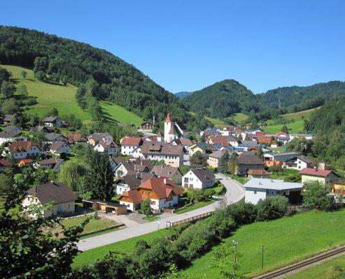 Frankenfels Ortsansicht