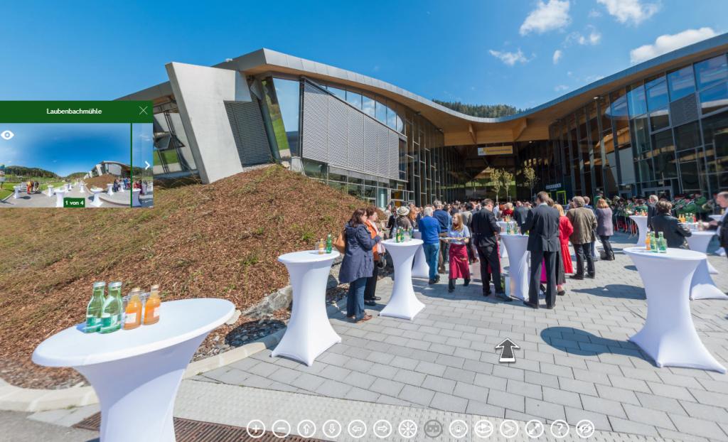 Landesausstellung NÖ in Frankenfels 360° Panorama