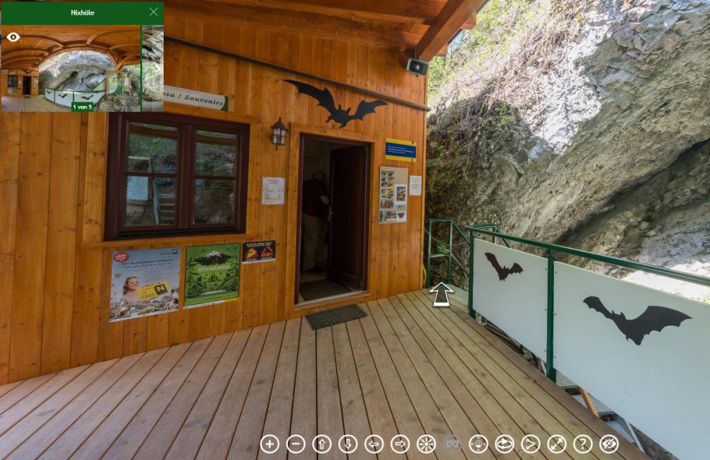 Nixhöhle 360° Panorama interaktive