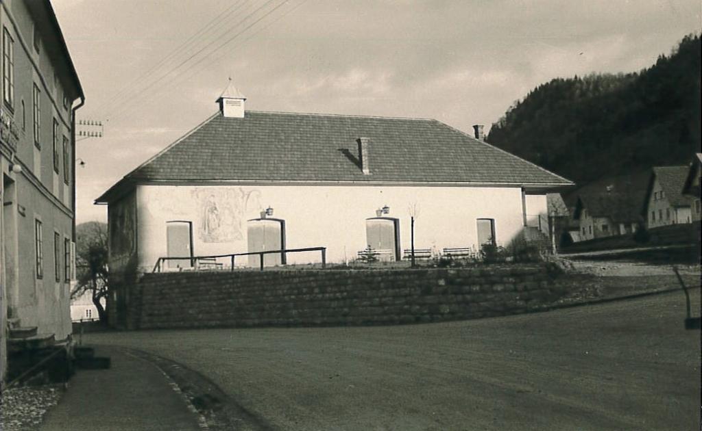 Amtshaus Frankenfels alt historische Aufnahme