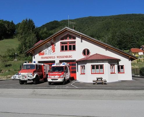 Heute: Feuerwehr Weißenburg