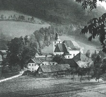 Frankenfels in den 1930er-Jahren