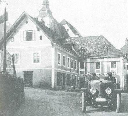 Markt 3 im Jahr 1920