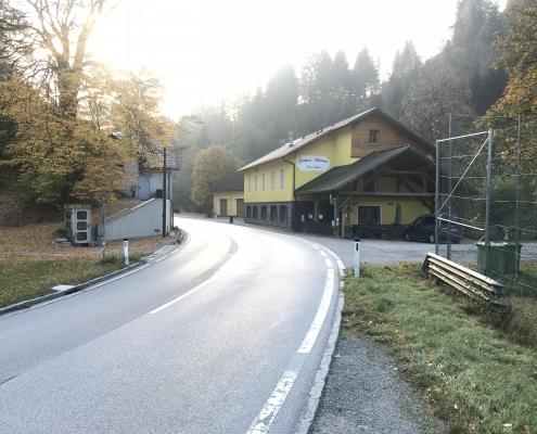 Heute: GH Schönau an der Mariazellerbahn