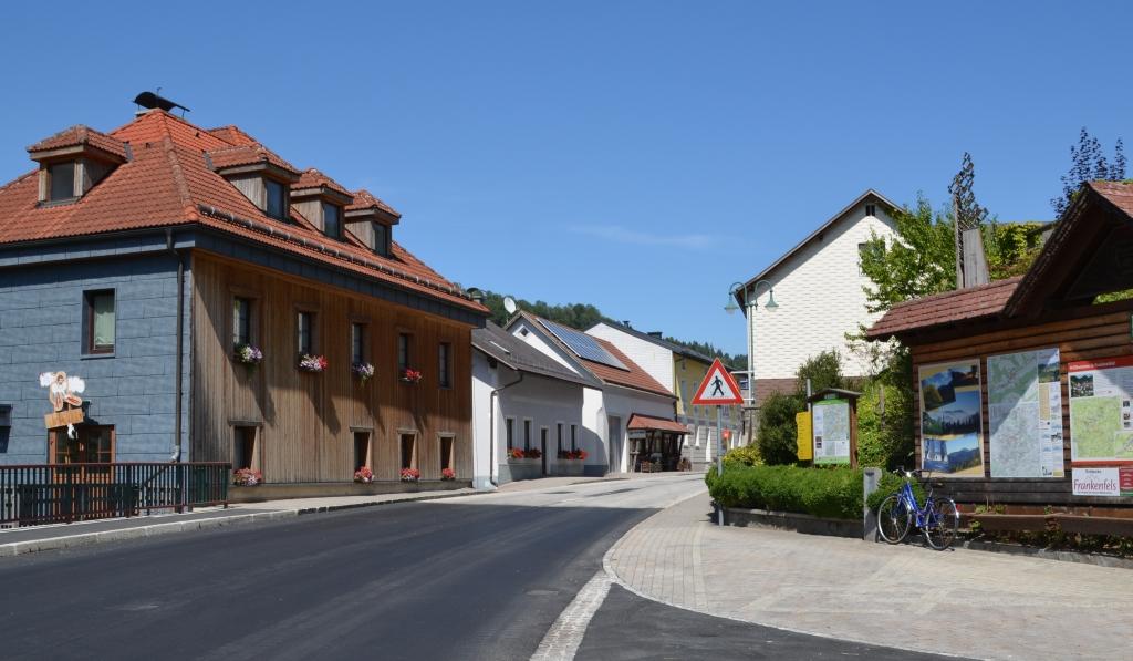 Frankenfels Markt Ortskern