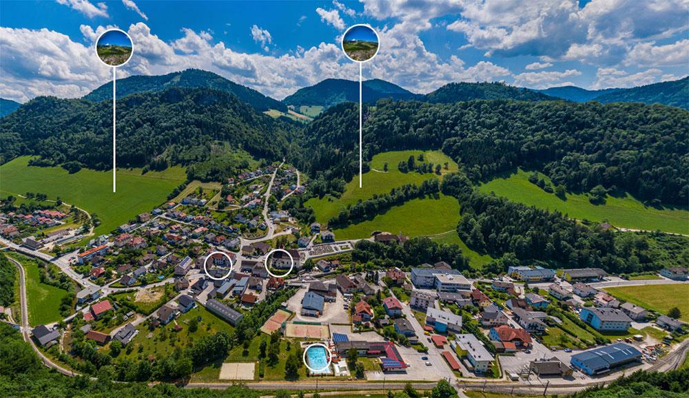 Panorama Frankenfels Vorschau