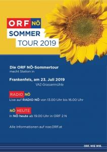 ORF-NÖ Sommertour 2019 Flyer
