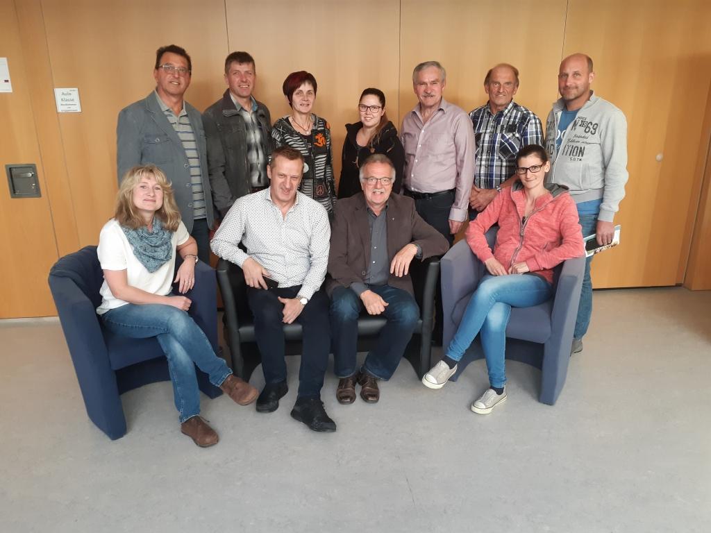 Schulaussschuss der Gemeinde Frankenfels Gruppenfoto