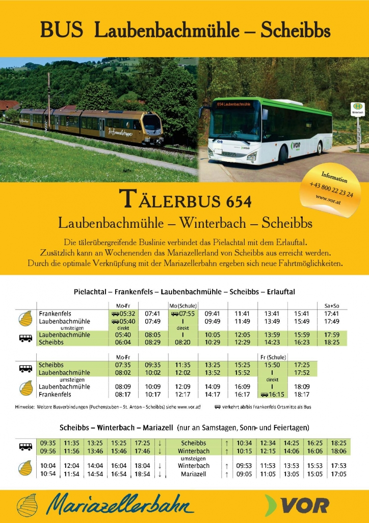Bus 654 NÖVOG-Flyer