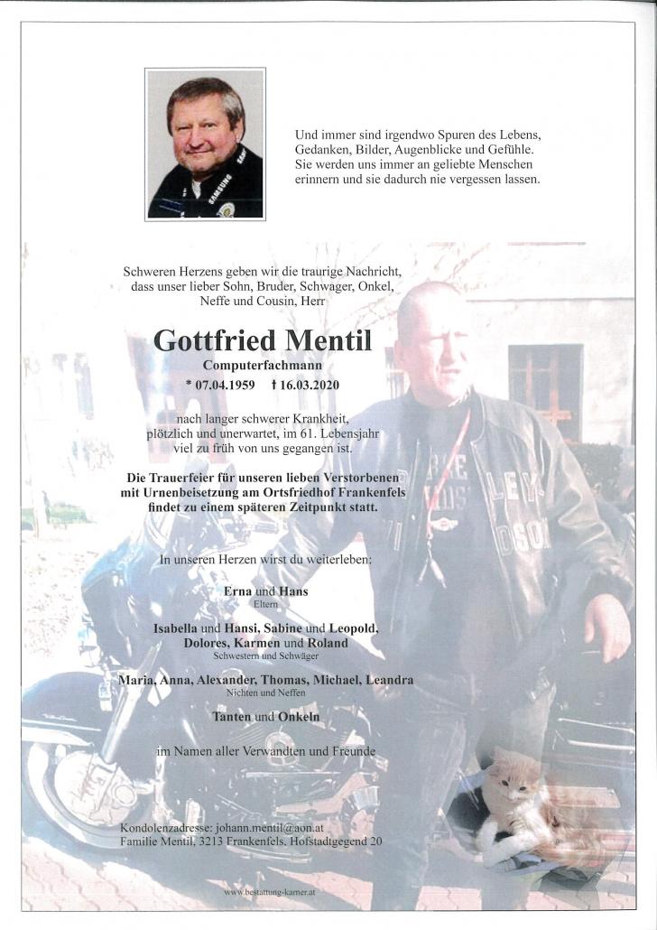 Gottfried Mentil