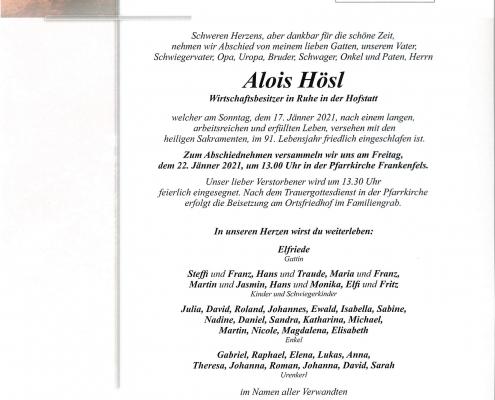 Alois Hösl